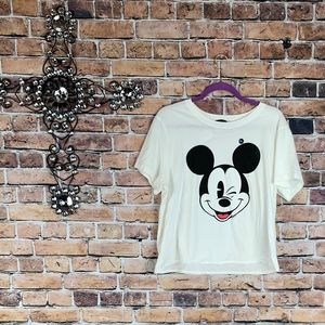 Abercrombie & Fitch Tops - Abercrombie & Fitch Mickey Mouse T-Shirt